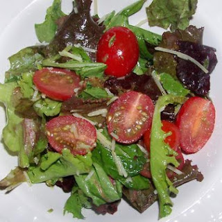 Green Salad With Sweet and Spicy Basil Vinaigrette