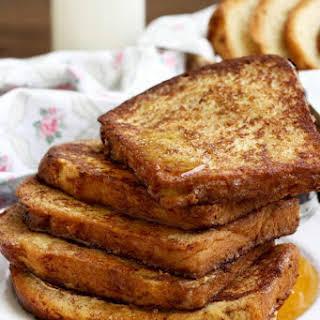 Healthier Brioche French Toast.