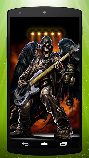 Bass Zombie Live Wallpaper