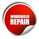 windshield repair button