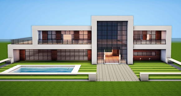 Modern Mansions for MCPE - náhled