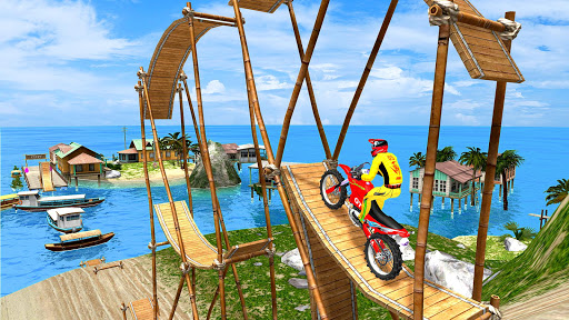 New Bike Racing Stunt 3D : Top Motorcycle Games 0.1 screenshots 8
