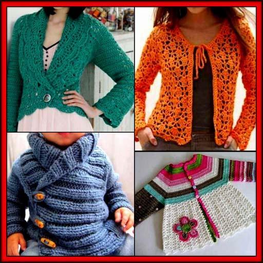 DIY Crochet Baby Sweater Women Cardigan Patterns - Aplicaciones en ...