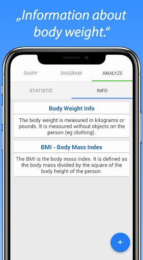 Body Weight Diary screenshot 5