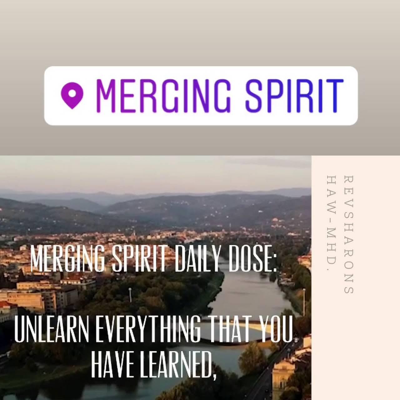 Merging Spirit RevSharon Spiritual Advisor, Teacher & Healer