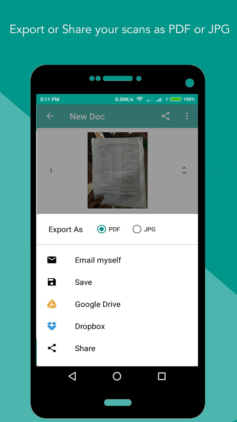 Smart Scan : PDF Scanner Screenshot 5