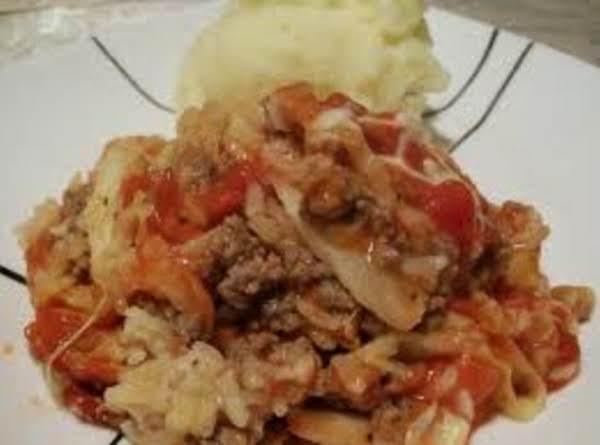 Cabbage Roll Casserole Recipe