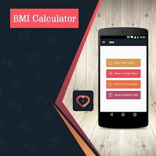 BMI Calculator - BMI, BMR & Body Fat Calculator - náhled