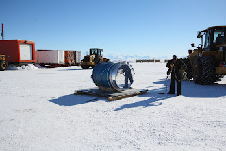Photo: back at McMurdo