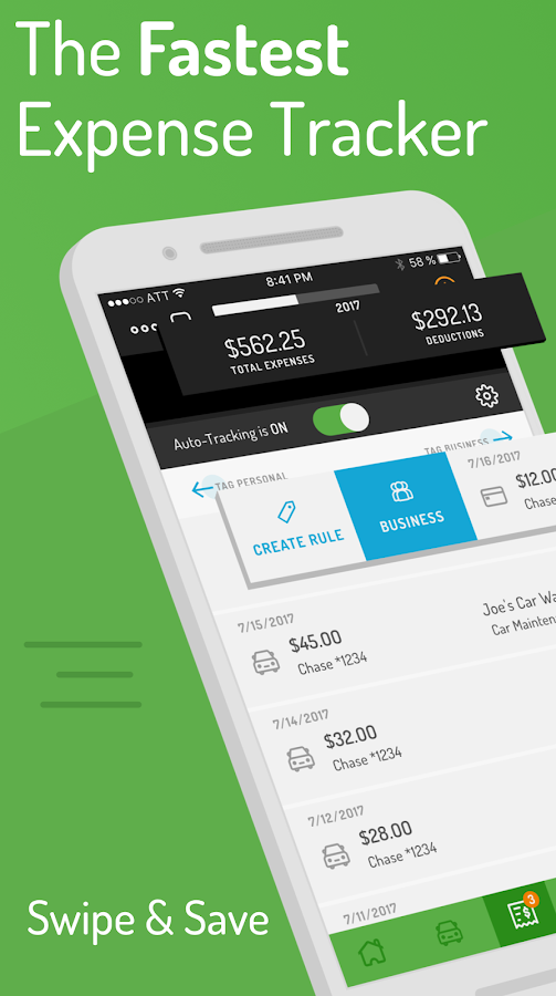 Hurdlr: Mileage & Expense Tracker for Business- screenshot