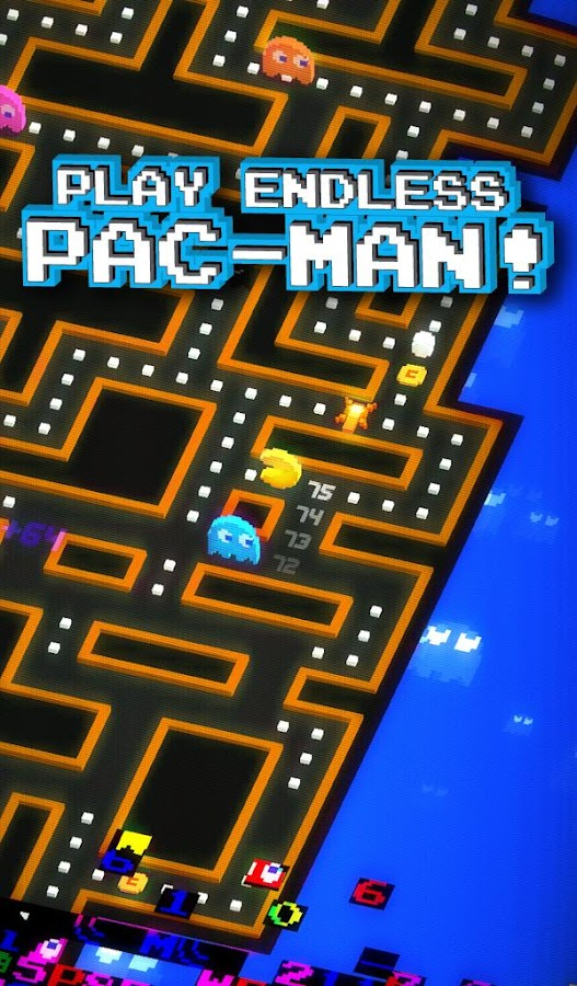 Screenshots of PAC-MAN 256 - Endless Maze for iPhone