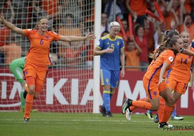 Euro féminin : les Pays-Bas filent dans le dernier carré !