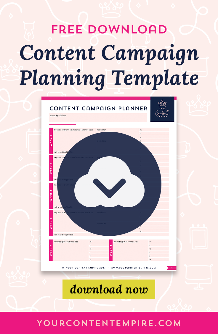 How to Plan & Execute a Profitable Content Campaign by Your Content Empire #YourContentEmpire