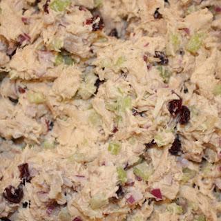 Paleo Cranberry Chicken Salad.