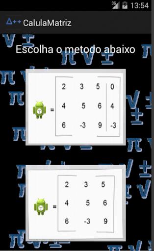 Calcula Determinante Matriz
