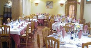 Interior del Restaurante Quesería Galatea.