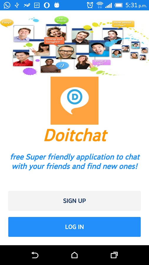 Chat & Meet New people,Online Chat app- screenshot