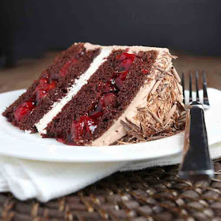 Black Forest Cake No Alcohol Recipes.
