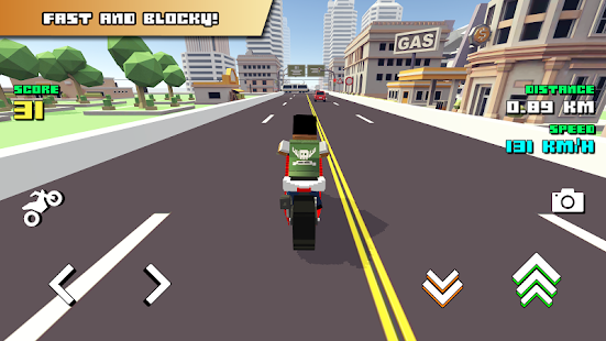 Blocky Moto Racing - náhled