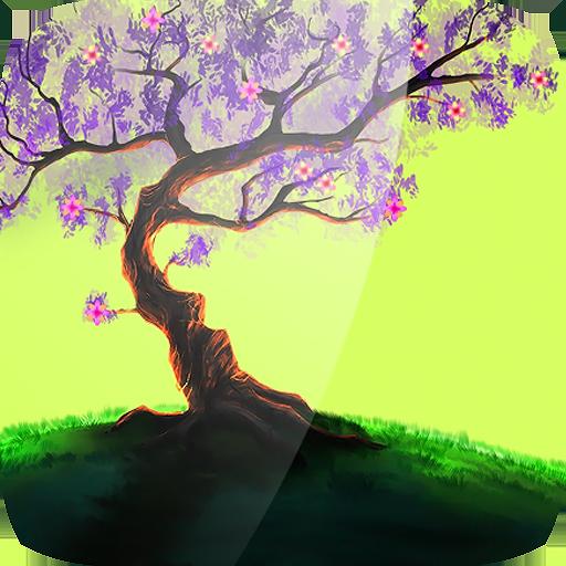 Woody Land :  Tree live wallpaper Parallax 3D Pro