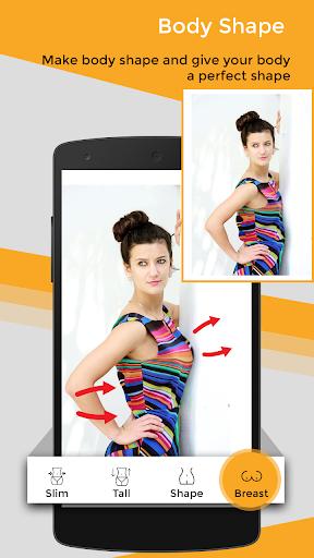 Body Shape Photo Editor 2.0 screenshots 4