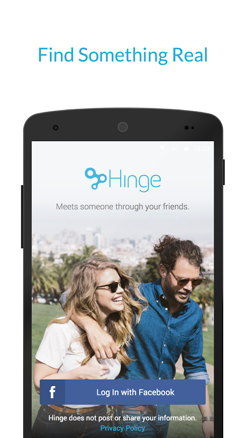 Hinge- screenshot