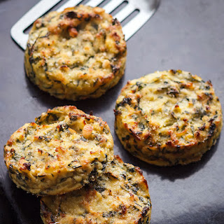 Baked Swiss Chard Potato Cakes Recipe