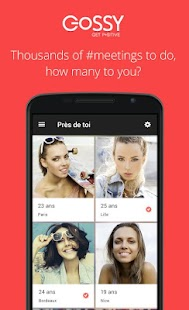 Chat & Dating on Gossy- screenshot thumbnail