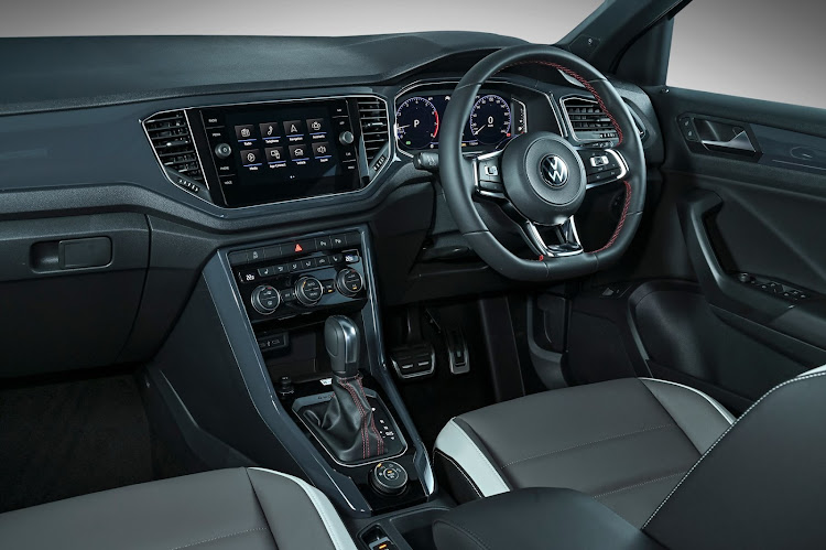 T-Roc cabin lacks the tactile quality of other VW products.