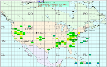 Photo: North America MUF - 2014-06-15 1947z - ARRL June VHF 2014
