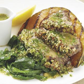 Roast Lamb with Acorn Squash