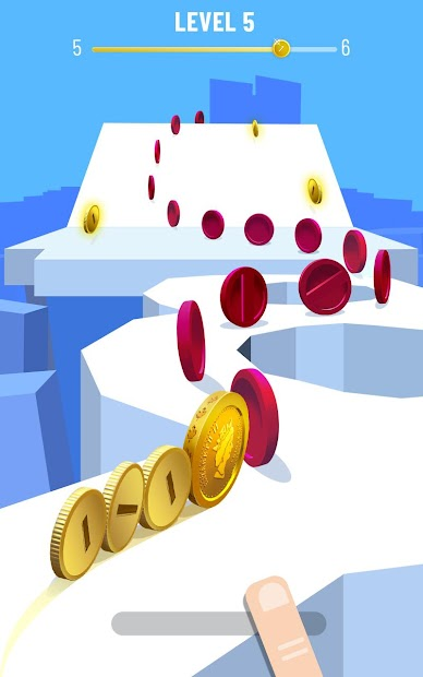 Coin Rush! Android App Screenshot