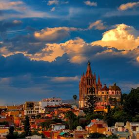 san miguel de allende, mexico by Jim Knoch - City,  Street & Park  Historic Districts