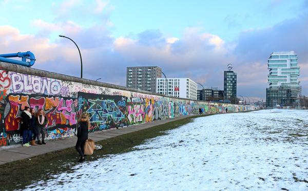 Bức tường Berlin ngày nay trở thành nhân chứng lịc sử