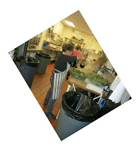 Photo: Making the salad...