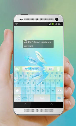 ブルーパステル GO Keyboard|玩個人化App免費|玩APPs