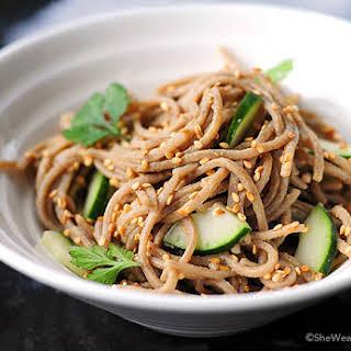 Wasabi Noodles Recipes.