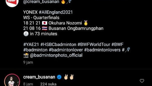 All England Open 2021 - Dianggap Mengganggu, BWF Minta Pebulu Tangkis Thailand Acuhkan Komentar Publik Indonesia - Bolasport.com