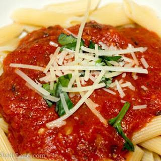 Simple Italian Marinara Sauce.
