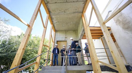 Vuelven las obras al edificio de Langle en Los Molinos