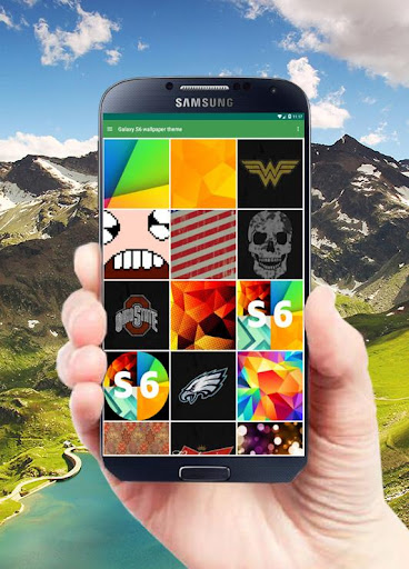 The Galaxy S6 Wallpaper Theme