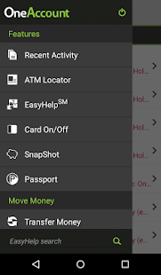 Higher One Mobile Banking App- screenshot thumbnail