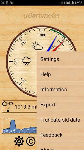 mu Barometer 3.2.0 screenshots 2