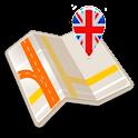 Map of Birmingham offline icon