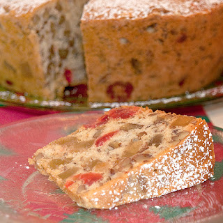 Candied Holiday Fruitcake.