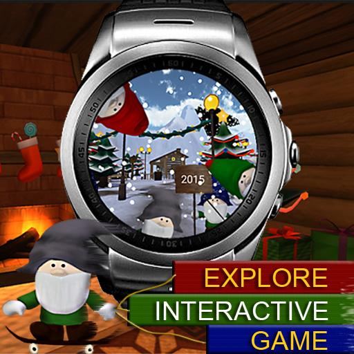 Christmas Time Games WatchFace