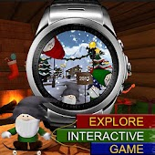 Watch Face - Santas Christmas Time: Animated+Games