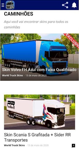 Skins World Truck Driving Simulator - WTDS ss2