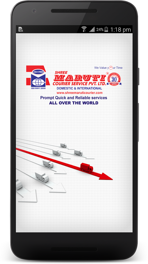 Shree Maruti Courier Service- screenshot