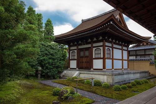 Kaisodo im Ryogenin, Subtempel des Daitokuji, Kyoto